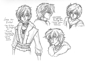 HTTYD au - Leon concepts by Blue-Starr