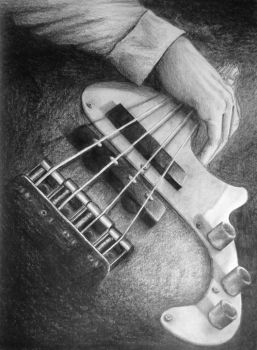 BASS GUITARRR by Kuenai