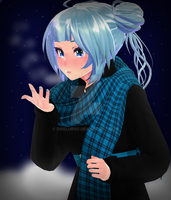 [MMD] More Snow by o0Glub0o