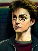 Harry Potter by ahobaga