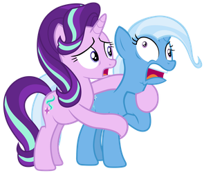 Trixie starting to hyperventilate by Tardifice