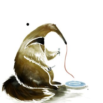 Anteater by Disty