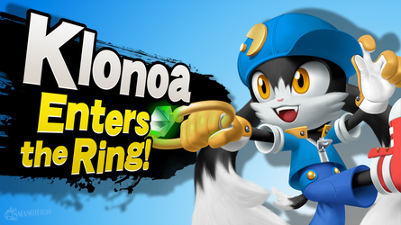 Klonoa Enters the Ring! by hextupleyoodot