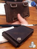 Ranger's wrist leather pouch by MaxBdn