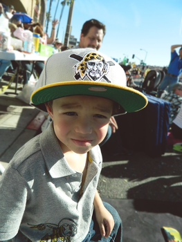 Little Bro at the Rose Parade by BrFX