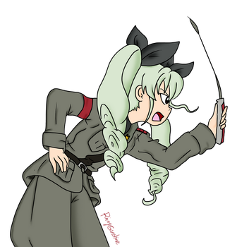 Commander Anchovy (Chyomi Anzai) by RainySunshineArt