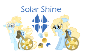 Solar Shine Reference by AnOldPony