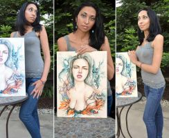 Mona and Luscious by MonaParvin