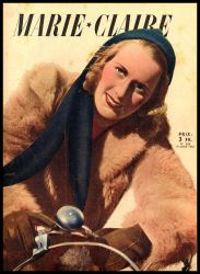MARIE-CLAIRE - 1942 by SUDOR