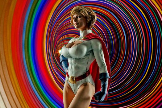 Power Girl  by kongvmax