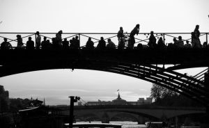 pont des arts, Paris by T-bau