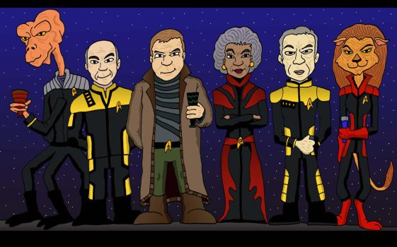 Star Trek Current Day by Lordwormm