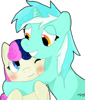 Lyra flavoured hugs by jigsaw91