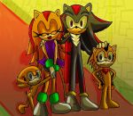 shadanna family (in royal castle) by SonicForTheWin1