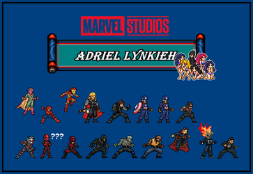 Marvel Collection by AdrielLynkieh