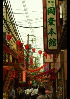 China Town of Yokohama by aikishukiusha3