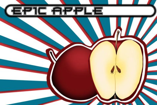 Epic Apple by Lilliasaid