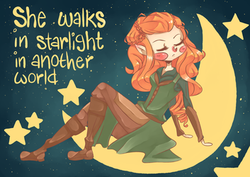 The Hobbit - Tauriel by MindlessFrappe