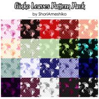 Ginko Leaves Pattern Pack by SewDesuNe