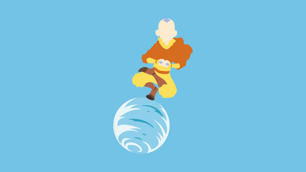 Aang (Avatar: The Last Airbender) by ncoll36