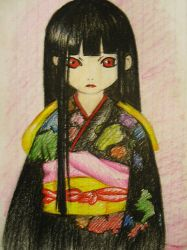 jigoku shoujo by chockoladien
