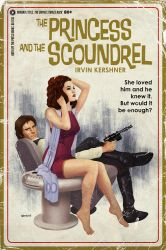 Star Wars Pulp, pt 5: Princess and the Scoundrel by TimothyAndersonArt