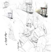Mecha sketches by Shinjuchan