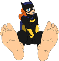 Batgirl soles by T95Master