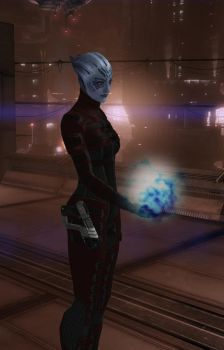 Liara Undercover: Kalliste Renai by Sharrukin-of-Akkad