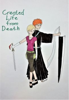 Bleach: Cover for Created Life from Death by Tsukiko75014