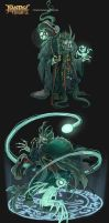 FANTASY RIVALS - Sorcerer Lord Thanator N3 by VanOxymore
