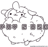 P2U Sheep Adoptable Base -on hold- by plushpon
