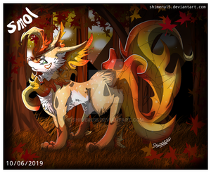 A autumn Leafeon for a contest