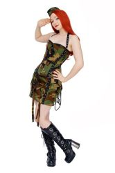 Military Outfit by azdaja