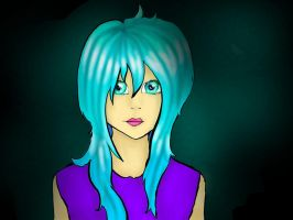 Dakee~ - first drawing with graphic tablet by AuroraAkkaris