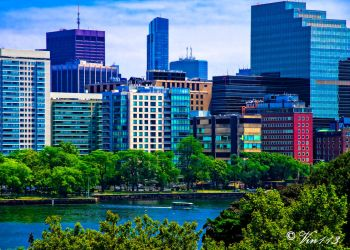 Boston Sunny Afternoon by vin113