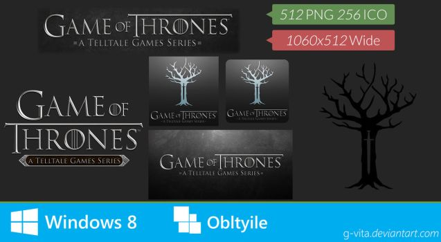 Game Of Thrones A Telltale Games Series Icon by g-Vita