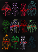 Demonic Adopts - Big Batch (3/12 OPEN) by Adopt-From-Frog