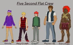 Five Second Flat Crew by DTrain2695