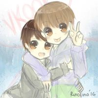 Vkook by usakookie