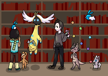 [PKMN-Adv] The Librarinth by Tubisi4u