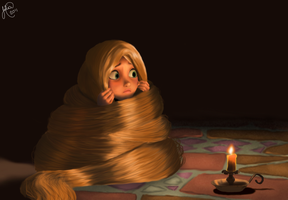 Rapunzel tangled wallpaper by AlekSakura