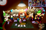 Poker night at the ATTiC - Tournament Deux by FloofPuppy