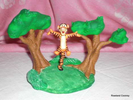 Tigger Birthday Cake Topper By RowlandCooney On DeviantArt