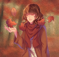 AT:: Autumn Leaves by haru-cchii