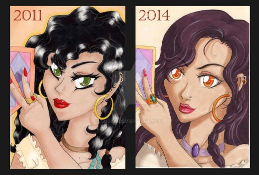 Gypsy, Before and After by Sugi91