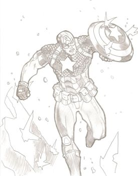 Captain America by stipher30