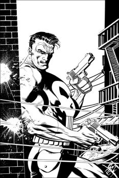 The Punisher by johnbeatty