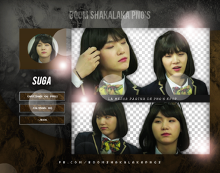 Suga PNG PACK #2 BTS by Upwishcolorssx