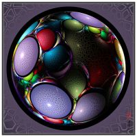 Easter Dragon Eggs No 115 by YarNor